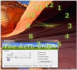 TheAeroClock 5.66 - náhled