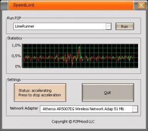 SpeedLord 2.2.0.0 - náhled