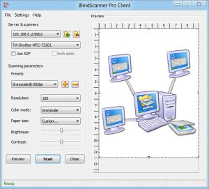 BlindScanner Standard - náhled