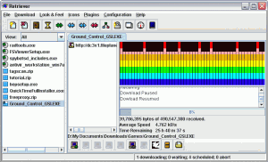 Retriever Download Manager 1.9 - náhled