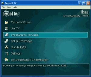 Beyond TV 4.9.2 - náhled