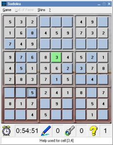 Sudoku 1.0 - náhled