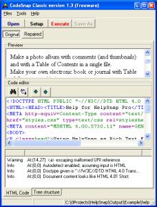 CodeSnap 1.3 - náhled