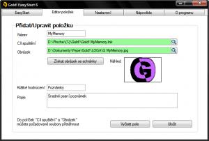 Gold! EasyStart 9.0 - náhled