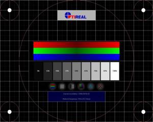 Test TFT (LCD) monitoru - náhled