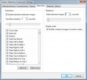 Endless Slideshow Screensaver 1.6 - náhled