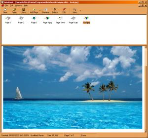 NoteBook 5.2.0 - náhled