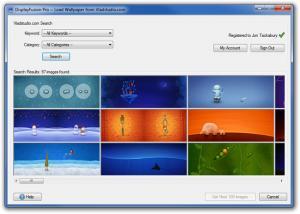 DisplayFusion 9.8 - náhled