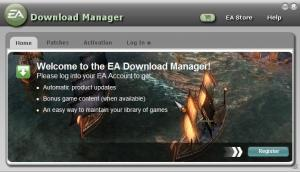EA Download Manager 7.3.4.4 - náhled
