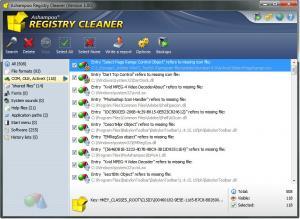 Ashampoo Registry Cleaner 1.00 - náhled