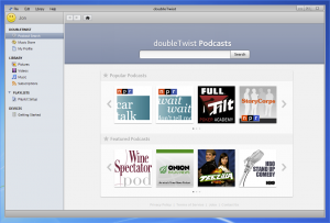 doubleTwist 2.7 Public Beta - náhled