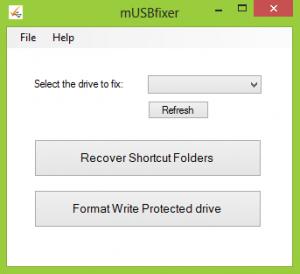 mUsbFixer 2.0 - náhled
