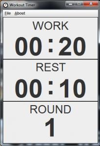 Workout Timer 2.0 - náhled