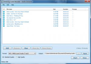 Apowersoft Streaming Audio Recorder 4.0.3 - náhled