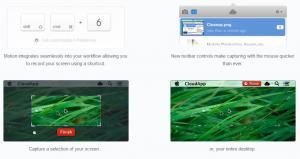 CloudApp 3.10 - náhled