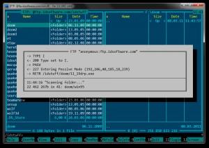 FTP - náhled