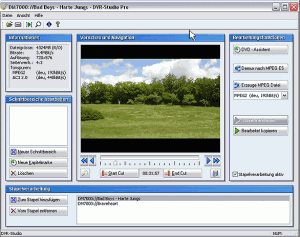 DVR-Studio HD 4.17 - náhled