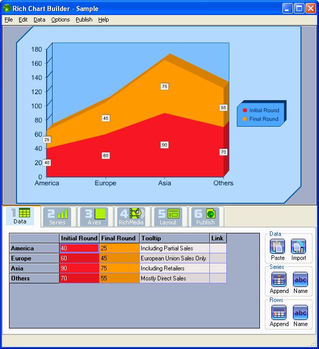 Rich Chart Builder Standard 1.0.130.2 - Professional - 1 licence