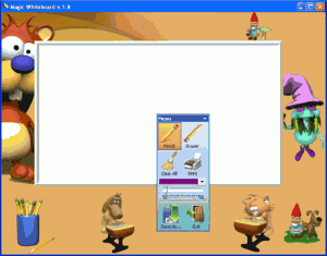 Magic Whiteboard 2.5 - náhled