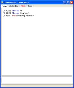 Instantbird 1.5 - náhled