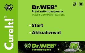 Dr.Web CureIT! 10.02.2020 - náhled