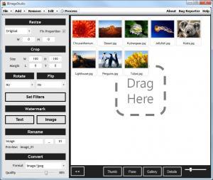BImageStudio 1.1.1 - náhled