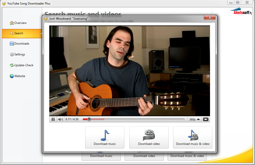 youtube song downloader abelssoft gratis