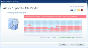 Ainvo Duplicate File Finder 2.3.2.351 - náhled