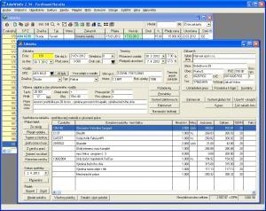 Program autoservis + AdmWin DE 2.72 - náhled
