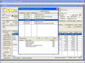 Program autoservis + AdmWin DE 2.76 - náhled