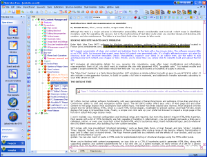 Web Idea Tree FreeWIT 5.43.2 - náhled