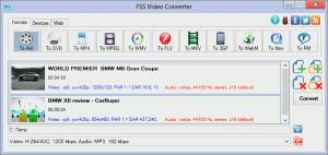FSS Video Converter 2.2.0.3 - náhled
