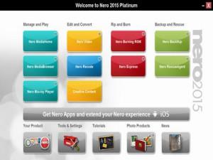 Nero 2015 Platinum - náhled