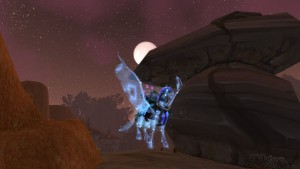 World of Warcraft Celestial Steed - náhled
