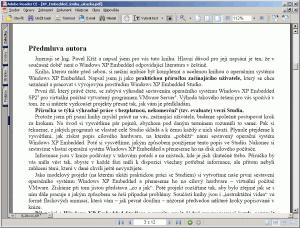 Windows XP Embedded SP2 - 1. díl - náhled