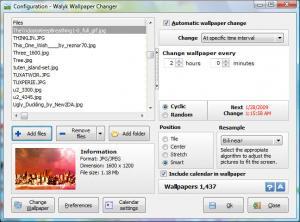 Walyk Wallpaper Changer 1.5 - náhled