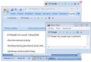 CIT Reader 7.2 - náhled