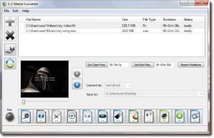 E-Z Media Converter 2.0.3 - náhled
