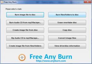 Free Any Burn 3.9 - náhled