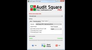 Audit Square - náhled