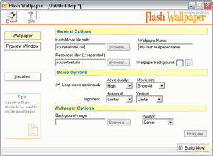 Flash Wallpaper  1.01 - náhled