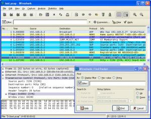 Wireshark 3.4.0 - náhled