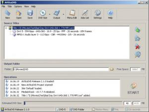 AVStoDVD 2.8.0 - náhled