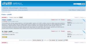 phpBB 3.0.10 - náhled