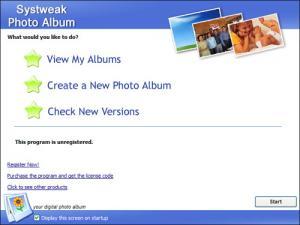 Systweak Photo Album 1.0.0.1 - náhled