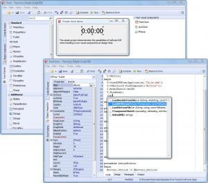 pdScript IDE 1.9 - náhled