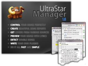 UltraStar Manager 1.8.0 - náhled
