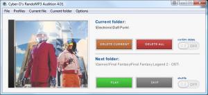 Cyber-D's RandoMP3 4.01 - náhled