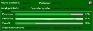 U-PC Info 2.0 - náhled