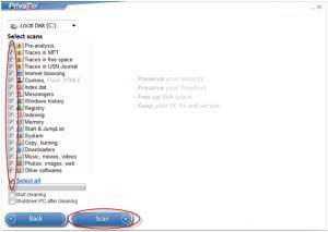 PrivaZer 3.0.26 - náhled